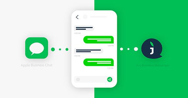 Apple Business Chatв Jivo